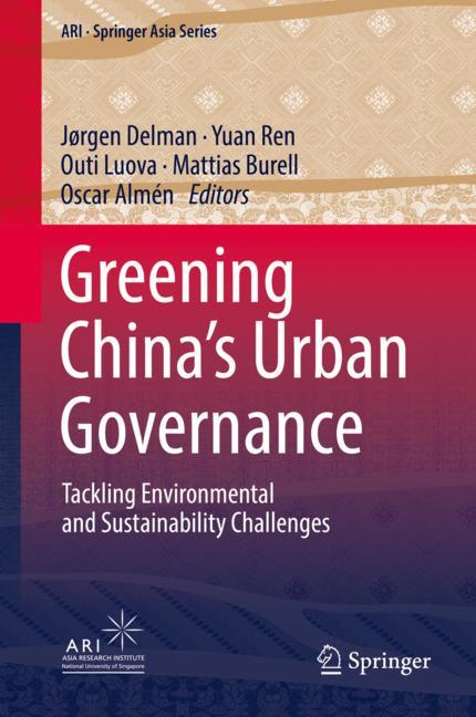 Cover of 'Greening China's Urban Governance'