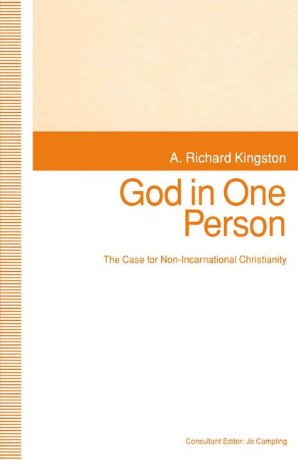 Cover of 'God in One Person'