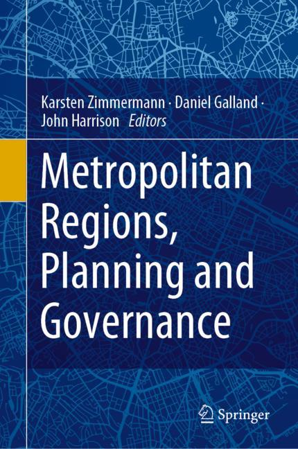 Cover of 'Metropolitan Regions, Planning and Governance'