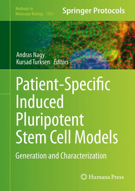 Cover of 'Patient-Specific Induced Pluripotent Stem Cell Models'
