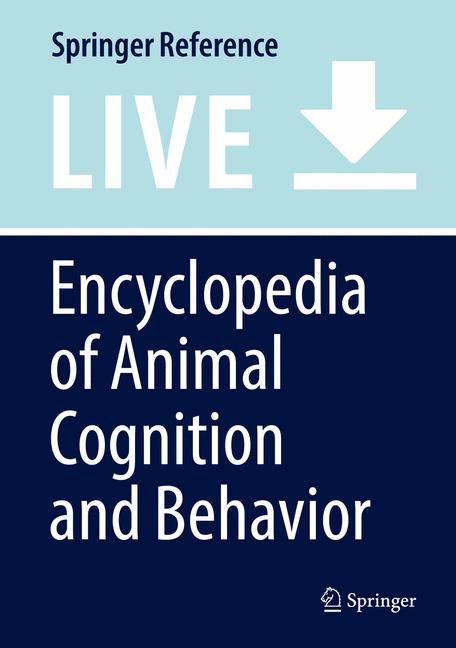 Cover of 'Encyclopedia of Animal Cognition and Behavior'
