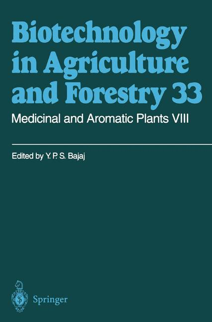 Cover of 'Medicinal and Aromatic Plants VIII'