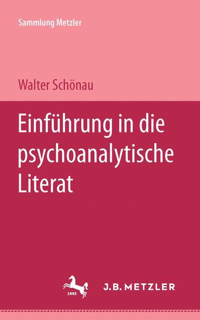 Cover of 'Einführung in die psychoanalytische Literaturwissenschaft'