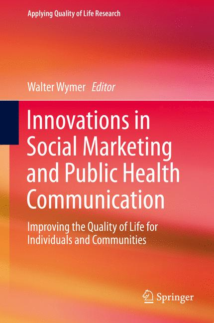 Cover of 'Innovations in Social Marketing and Public Health Communication'