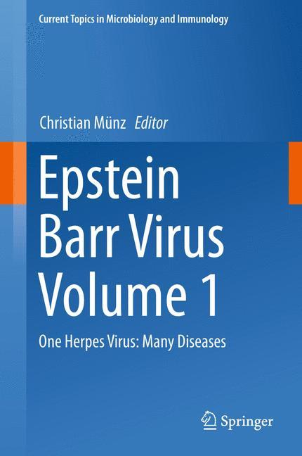 Cover of 'Epstein Barr Virus Volume 1'
