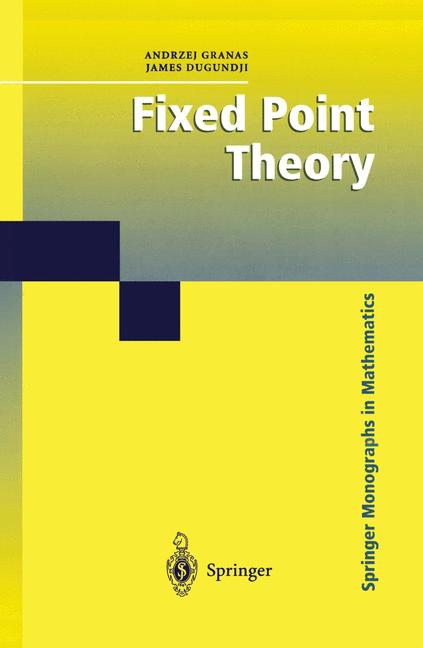 Cover of 'Fixed Point Theory'