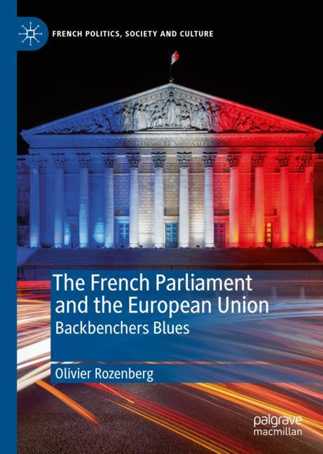 Cover of 'The French Parliament and the European Union'