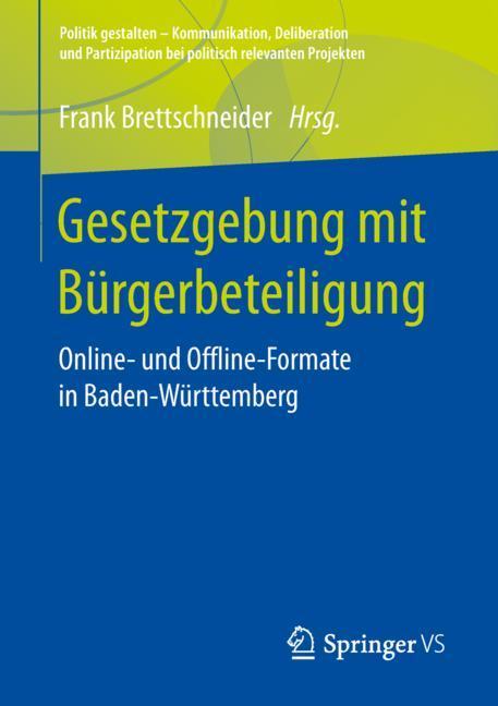Cover of 'Gesetzgebung mit Bürgerbeteiligung'