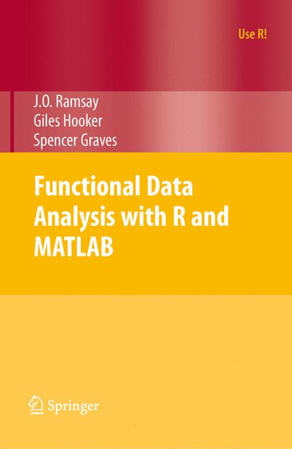 Cover of 'Functional Data Analysis with R and MATLAB'