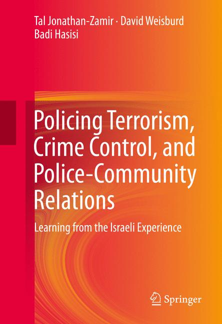 Cover of 'Policing Terrorism, Crime Control, and Police-Community Relations'