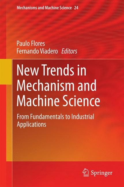 Cover of 'New Trends in Mechanism and Machine Science'