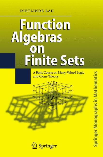 Cover of 'Function Algebras on Finite Sets'