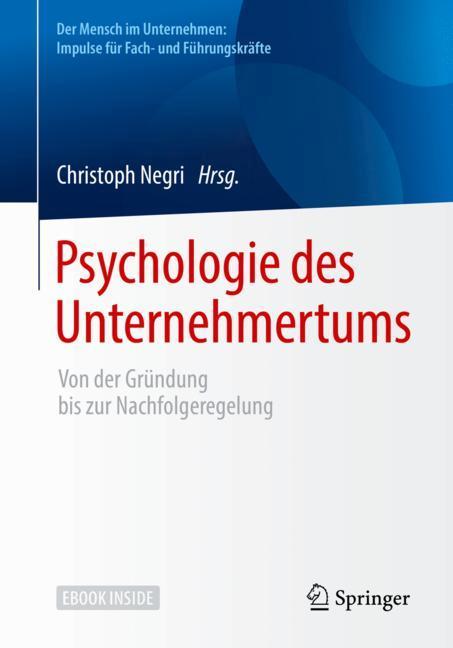 Cover of 'Psychologie des Unternehmertums'