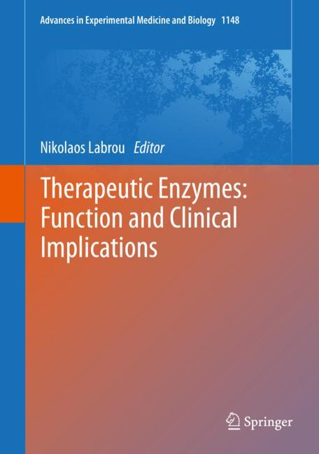 Cover of 'Therapeutic Enzymes: Function and Clinical Implications'