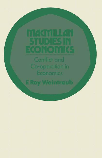 Cover of 'Conflict and co-operation in economics'