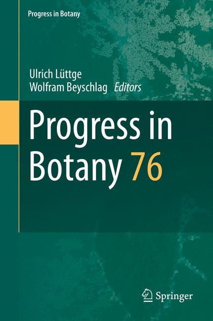 Cover of 'Progress in Botany'