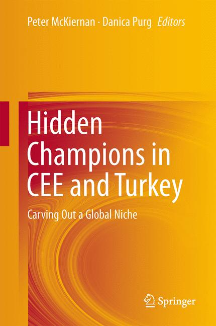 Cover of 'Hidden Champions in CEE and Turkey'