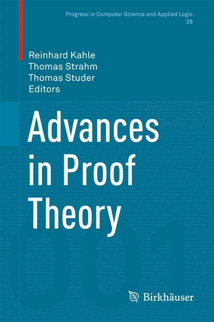 Cover of 'Advances in Proof Theory'