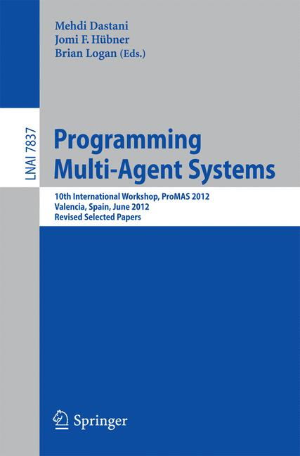 Cover of 'Programming Multi-Agent Systems'