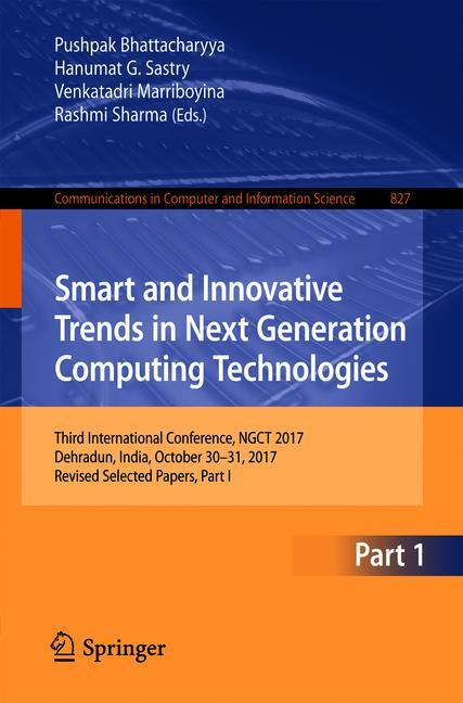 Cover of 'Smart and Innovative Trends in Next Generation Computing Technologies'