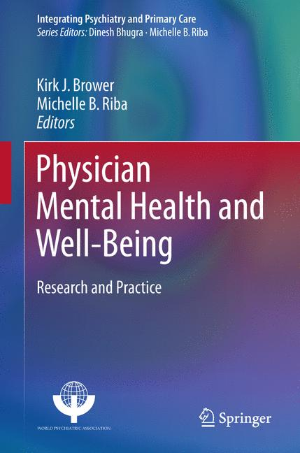 Cover of 'Physician Mental Health and Well-Being'