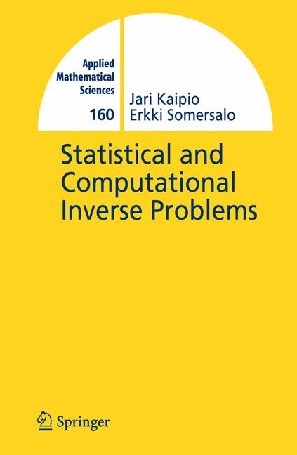 Cover of 'Statistical and Computational Inverse Problems'