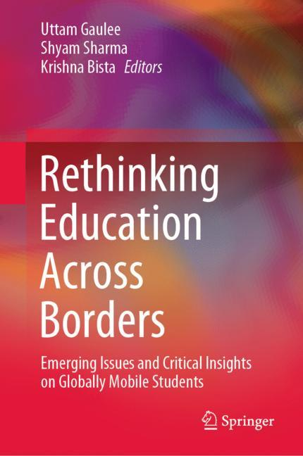 Cover of 'Rethinking Education Across Borders'