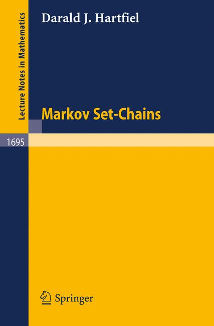 Cover of 'Markov set-chains'