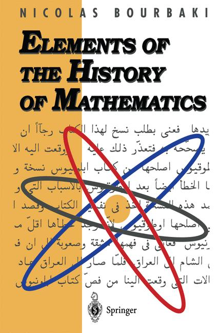 Cover of 'Elements of the History of Mathematics'