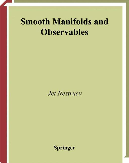 Cover of 'Smooth Manifolds and Observables'
