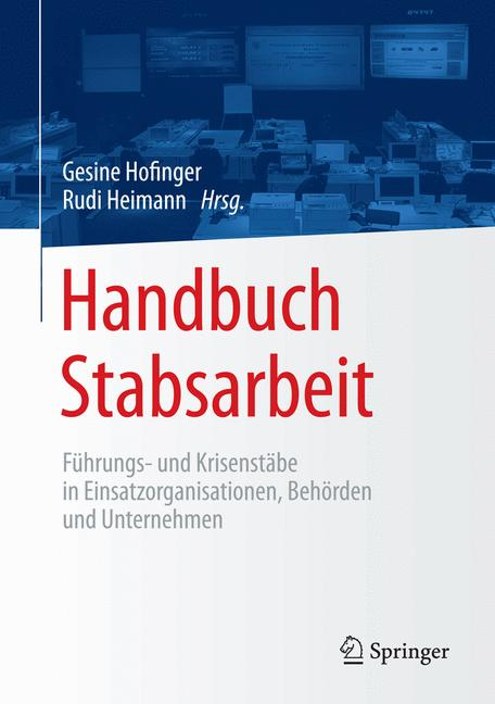 Cover of 'Handbuch Stabsarbeit'