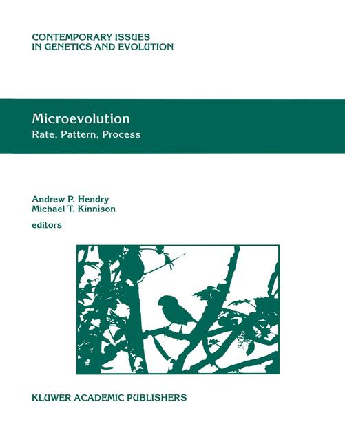 Cover of 'Microevolution Rate, Pattern, Process'