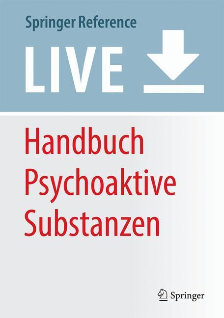 Cover of 'Handbuch Psychoaktive Substanzen'