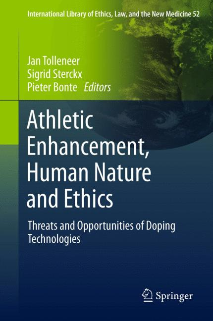 Cover of 'AthleticEnhancement, Human Nature and Ethics'