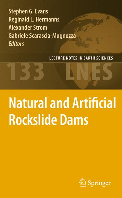 Cover of 'Natural and Artificial Rockslide Dams'