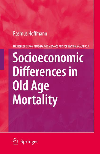 Cover of 'Socioeconomic Differences in Old Age Mortality'