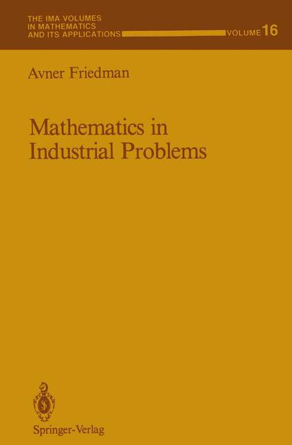 Cover of 'Mathematics in Industrial Problems'