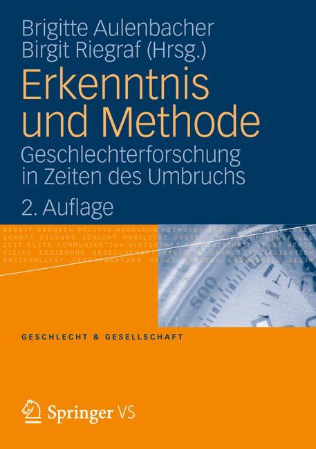 Cover of 'Erkenntnis und Methode'
