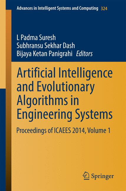 Cover of 'Artificial Intelligence and Evolutionary Algorithms in Engineering Systems'