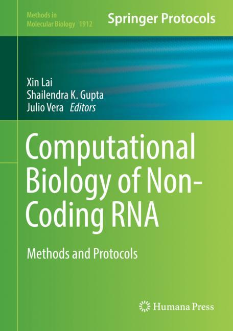 Cover of 'Computational Biology of Non-Coding RNA'