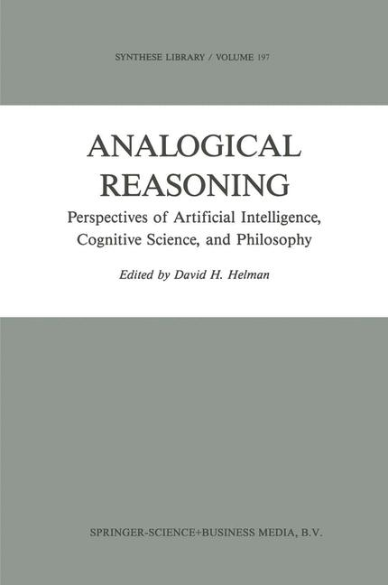 Cover of 'Analogical Reasoning'