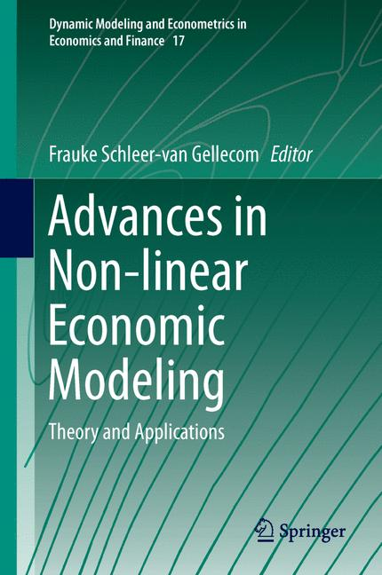 Cover of 'Advances in Non-linear Economic Modeling'