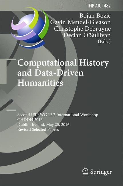 Cover of 'Computational History and Data-Driven Humanities'
