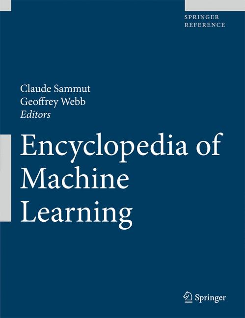 Cover of 'Encyclopedia of Machine Learning'