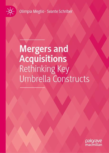 Cover of 'Mergers and Acquisitions'