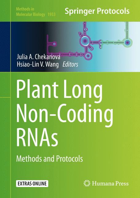 Cover of 'Plant Long Non-Coding RNAs'