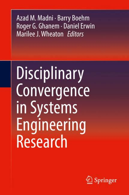 Cover of 'Disciplinary Convergence in Systems Engineering Research'