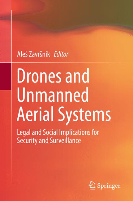 Cover of 'Drones and Unmanned Aerial Systems'
