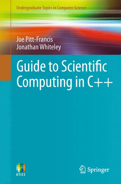 Cover of 'Guide to Scientific Computing in C++'