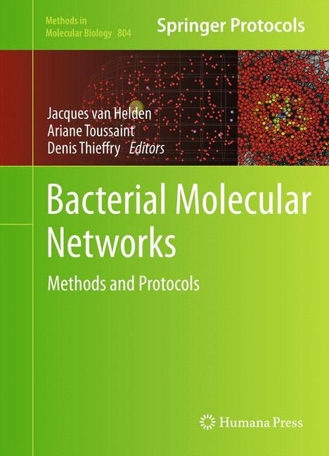 Cover of 'Bacterial Molecular Networks'
